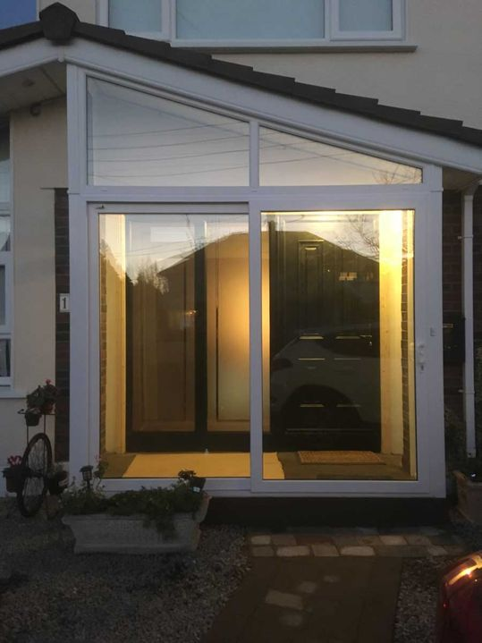 Glass Porch Extension Goatstown