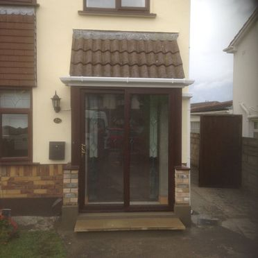 Porch Extension in Swords